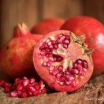 Still life of pomegranate