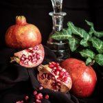 Ivy and pomegranates