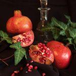 Pomegranates and ivy