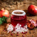 Iced pomegranate