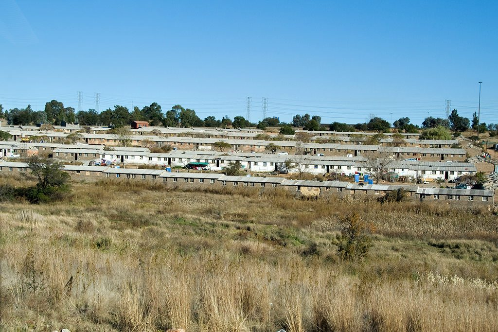 Black accommodation in soweto