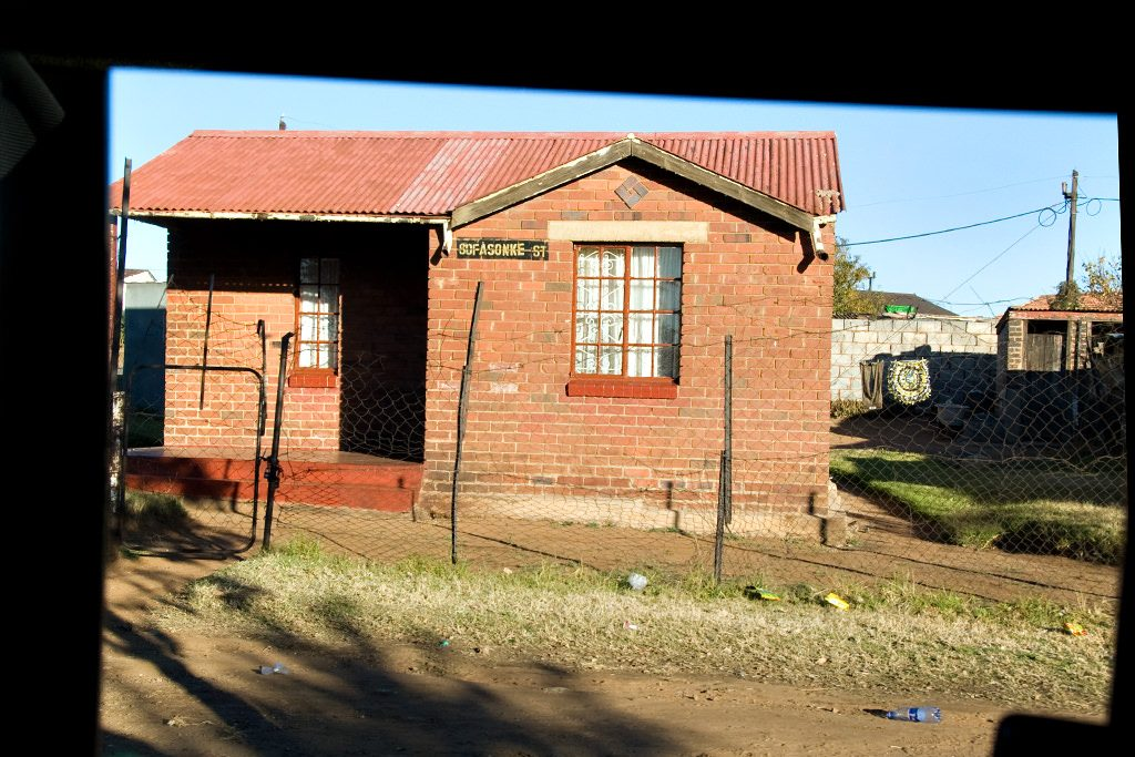 Small house in Soweto