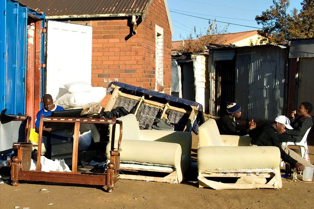 A furniture repurposing business in Soweto
