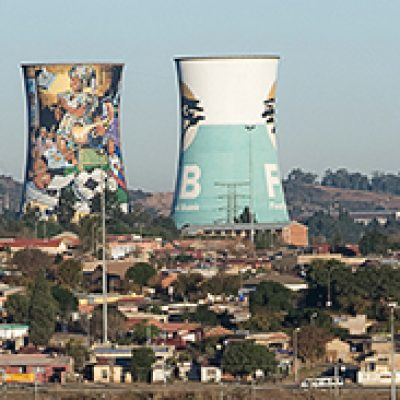 Cooling Towers in Soweto